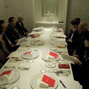 平成31年度理事会の様子