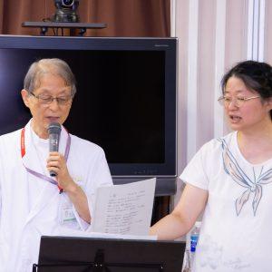 山口先生と松井先生
