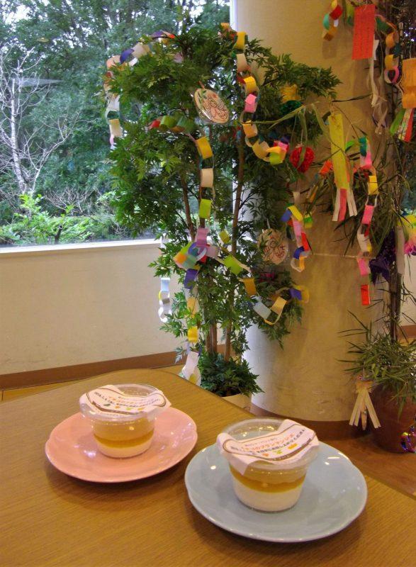 笹飾りとケアフード
