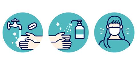 手洗い消毒