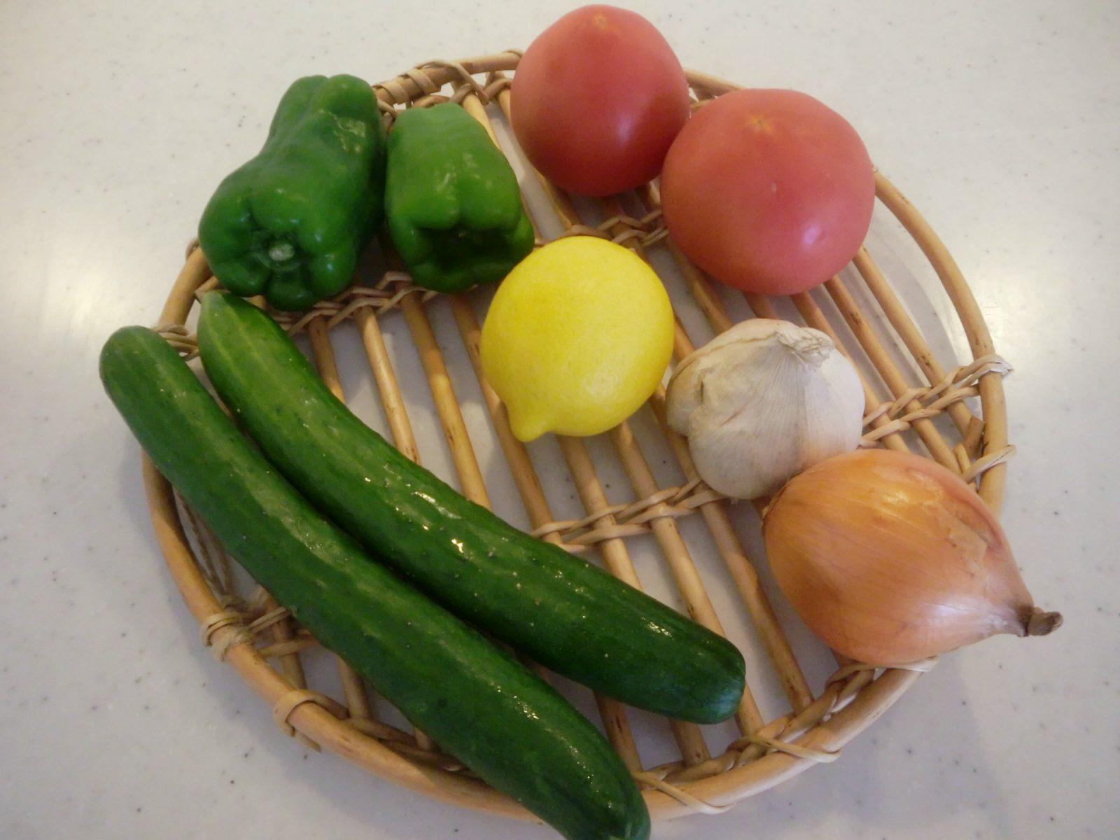 パスバチョの野菜