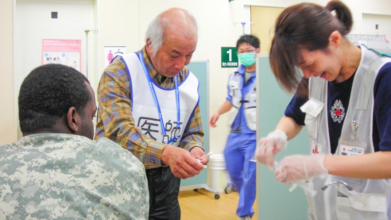 東日本大震災被災地医療支援